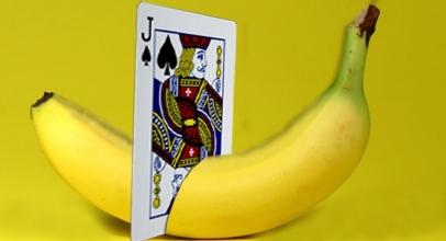The Banana Card Illusion